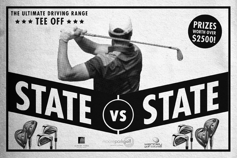 State vs State driving range competition